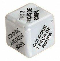 Pacote com 10und Dado Strip Divers�o ao Cubo
